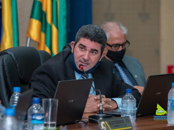 Vereador Paulinho da Mec Céu (PSB) sugere mutirão de limpeza nas margens dos rios
