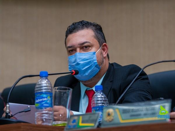 Presidente do Legislativo Gean Rubens parabeniza  administração municipal